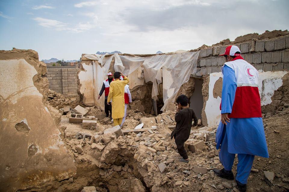 نمایی از فعالیت های جمعیت هلال احمر افغانی!